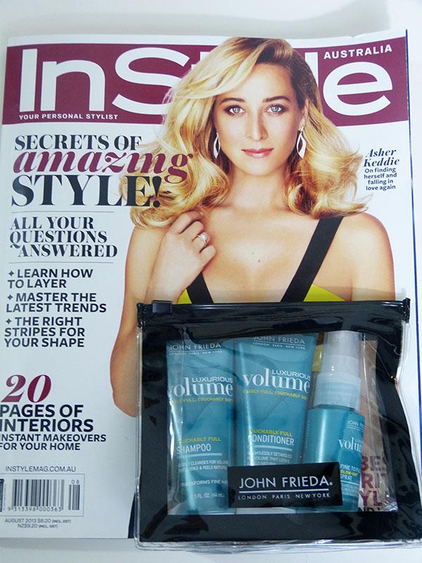 Instyle Australia Magazine: August Edition